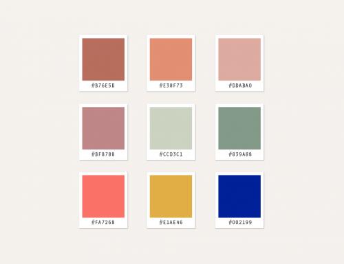 Les couleurs clés de la saison Printemps / Été 2019
